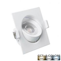 Empotrable LED 7W Cuadrado...