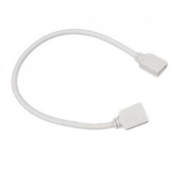 Conector tira LED RGB blanco