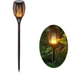 Antorcha LED Solar con Luz...