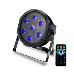 Foco PAR LED 28W DMX Luz UV...