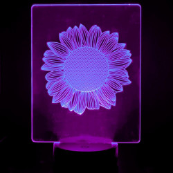 Lámpara de Mesa 3D RGB -...
