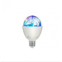 Bombilla LED RGB Disco 3W E27
