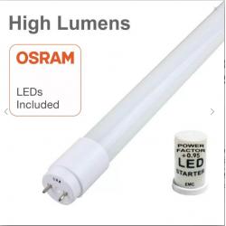 Tubo LED 20W Cristal 150cm...