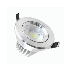 Empotrable LED 7W 45°