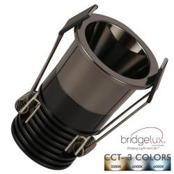 Empotrable LED 5W Negro...