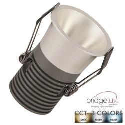Empotrable LED 5W Cromo...