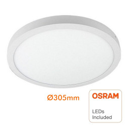 Plafón LED circular...